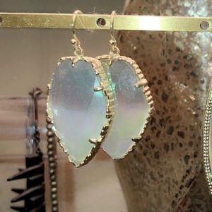 Gold dichroic glass Carla's Kendra Scott